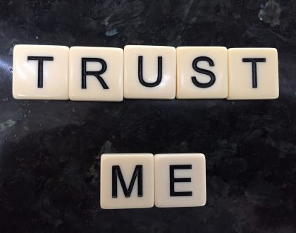 Why is it a big deal to maintain trust?