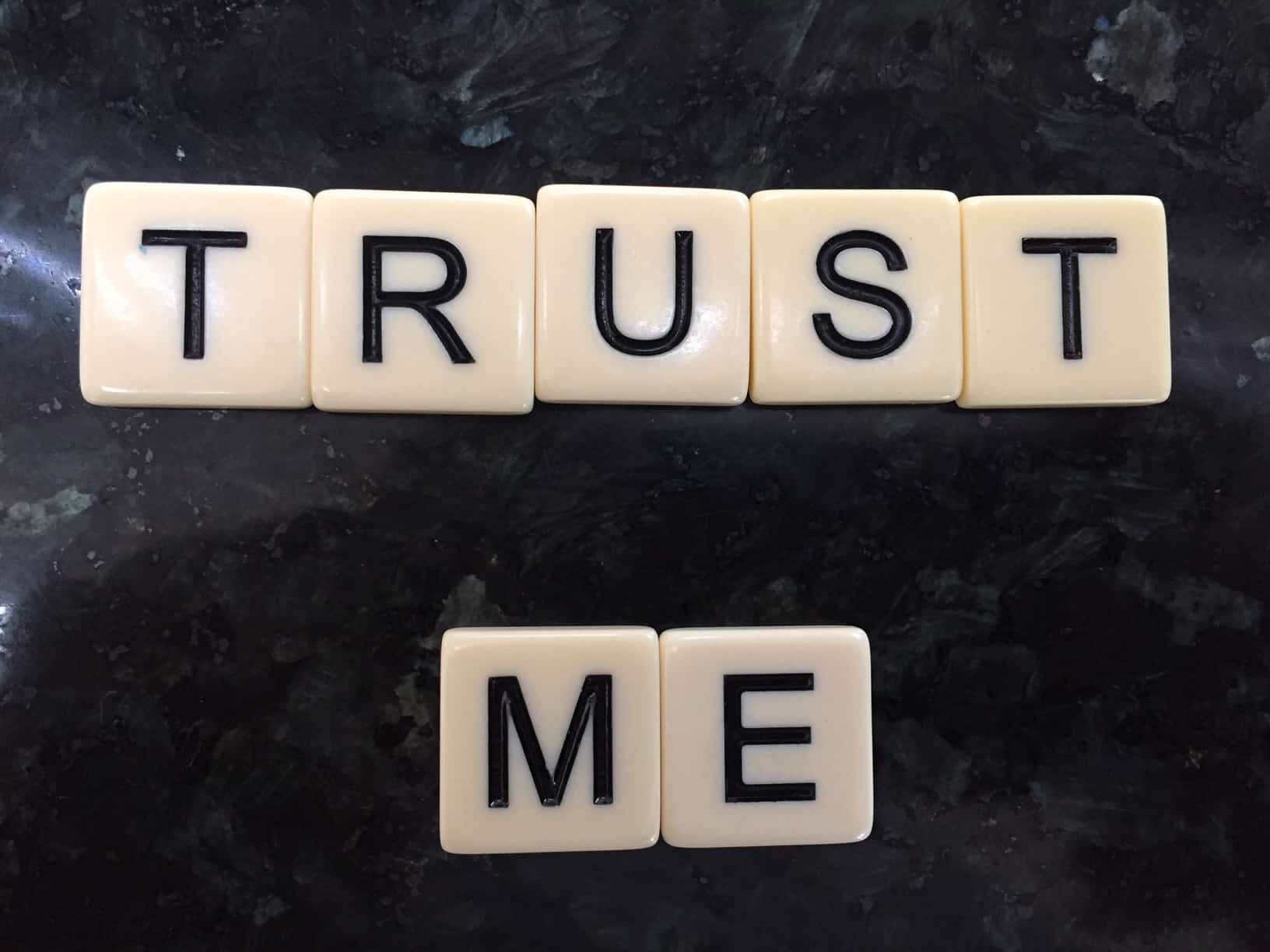 Why do I have to maintain trust?