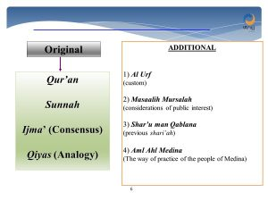 sources of fiqh