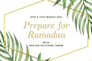 prepare for ramdan