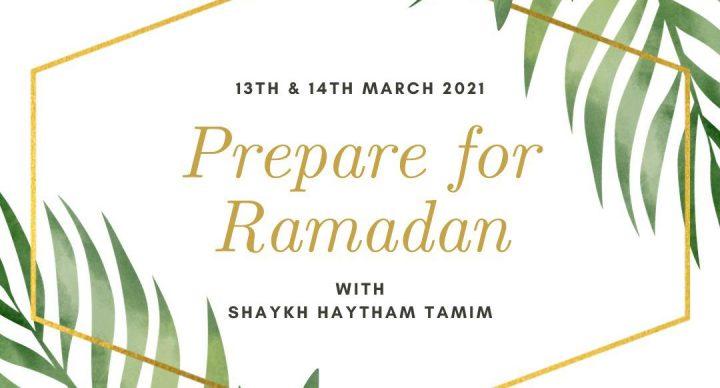 prepare for ramdan