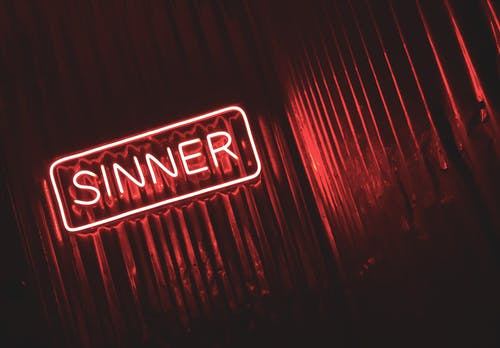 how to deal with sin in the community