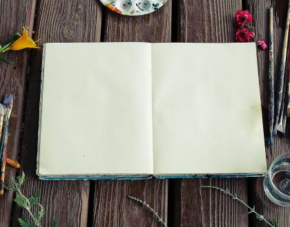 Every day is blank page