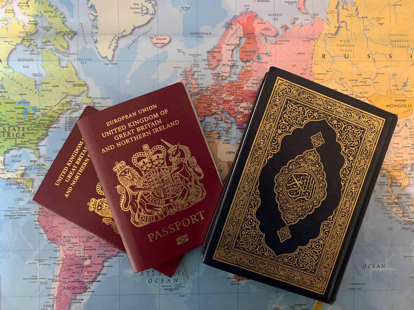 How do you maintain a Muslim identity in a non-Muslim environment?
